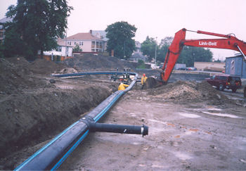 Polyethylene Pipe Fiberglas Products Stormwater